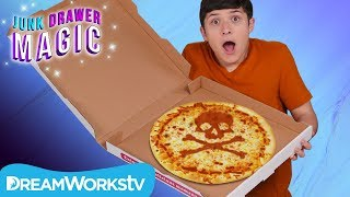 Pizza Prediction Trick | JUNK DRAWER MAGIC