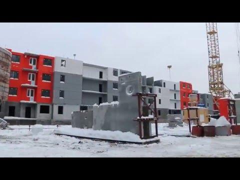 ГК Мортон: Мортонград Бутово ( 3 очередь ) январь 2016