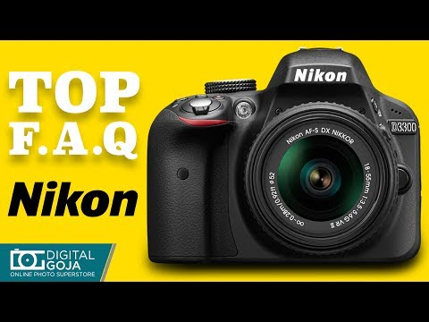 NIKON D3300 DSLR Camera | Most Asked Questions | #NikonD3300 TUTORIAL