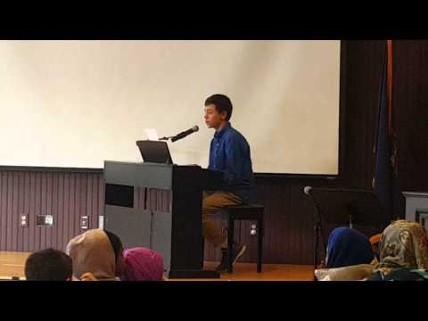 """Great Falls Forum """"Youth Arts Showcase"""" at the Lewiston Public Library (Video 2)"""