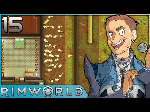 Rimworld - #15 - Burning Bodies and Building Bedrooms!