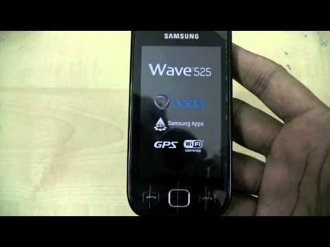 Samsung Wave 533 / 525 / 723 Hands-on
