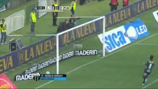 Gol de Carrasco. Nueva Chicago 2 - Quilmes 1. Fecha 30. Primera División 2015. FPT