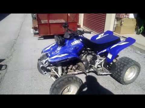 CLEANING ATV PLASTICS W/ ARMOR ALL TIRE FOAM