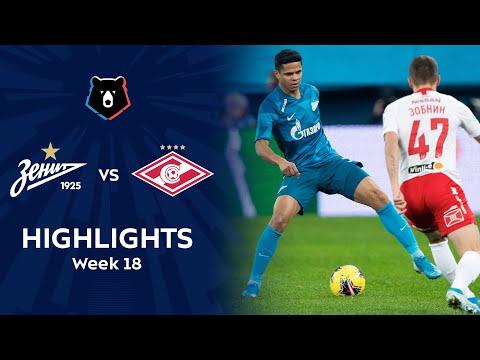 Highlights Zenit vs Spartak (1-0)