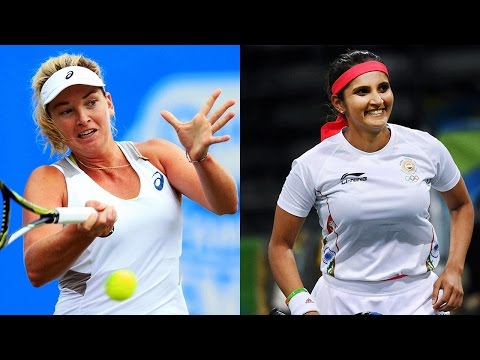 Sania Mirza-Barbara Strycova storms into US Open quarter-finals| Oneindia News