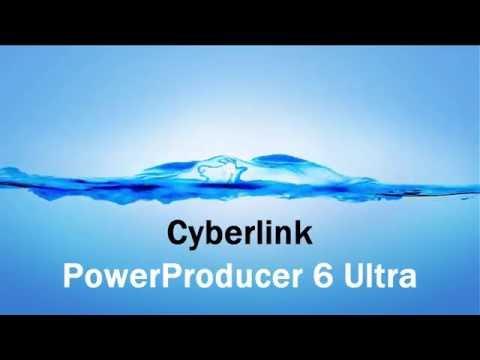 Cyberlink PowerProducer 6 Ultra (Novo método de download e ativação)