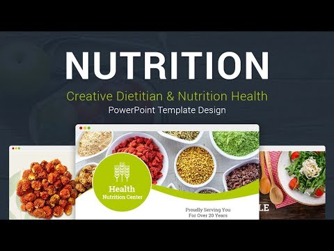 Diet and Nutrition PowerPoint Template Designs - SlideSalad