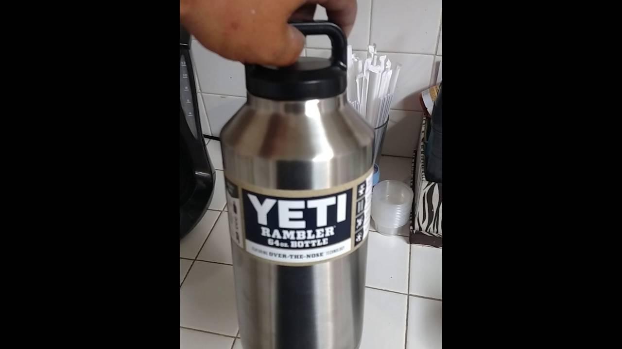 Yeti Rambler 64 Oz Bottle First Impression Youtube