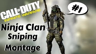 Cod:Infinite Warfare *Sniping Montage #1* The Ninja Clan!