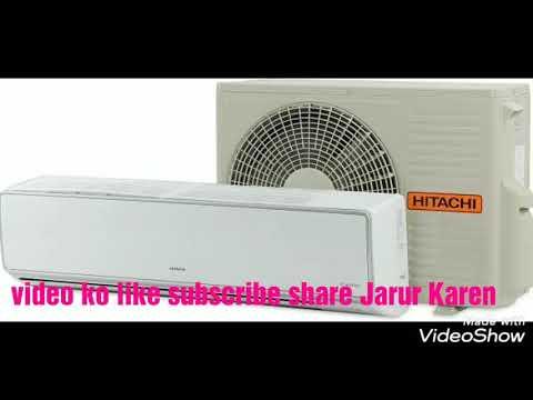 Hitachi air conditioner I clean model Inverter AC