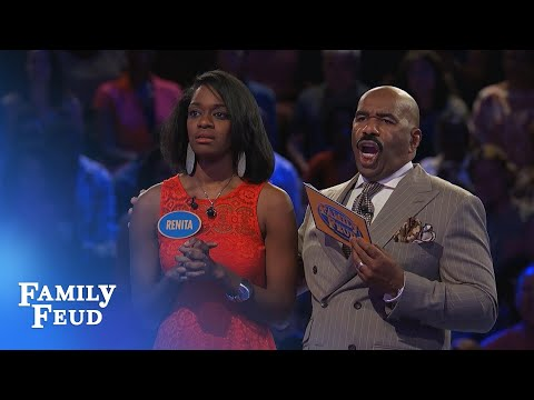 FUNNY FAST MONEY! | Family Feud