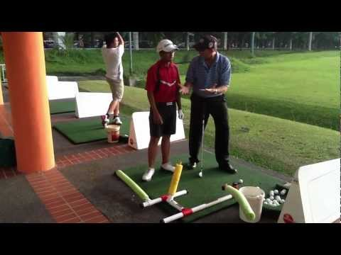 Tony Blacker Golf Academy at Jakarta's Senayan Golf Driving Range
