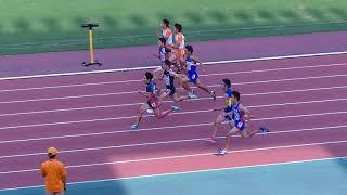 2017東部高校新人 男子100m 決勝