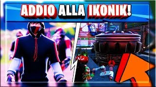 END PROMOTION (IN ANTICIPO) SKIN IKONIK! FIRST PART OF THE ROCKET IN GAME! (FORTNITE SEASON 10)