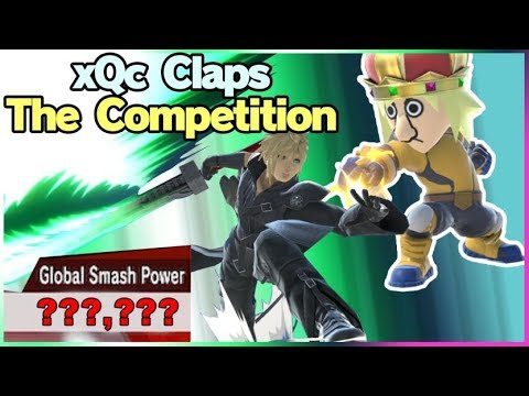 XQc Claps The Competition! (Kapp) - Super Smash Bros. Ultimate