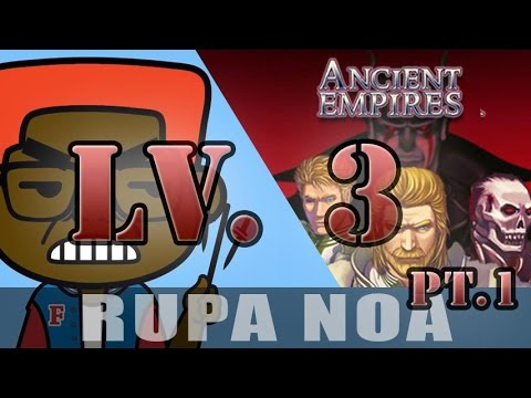 (Pt 1) Ancient Empires For Android | Nokia | LEVEL 3 | FRIENDS AND ENEMIES | Game Play |