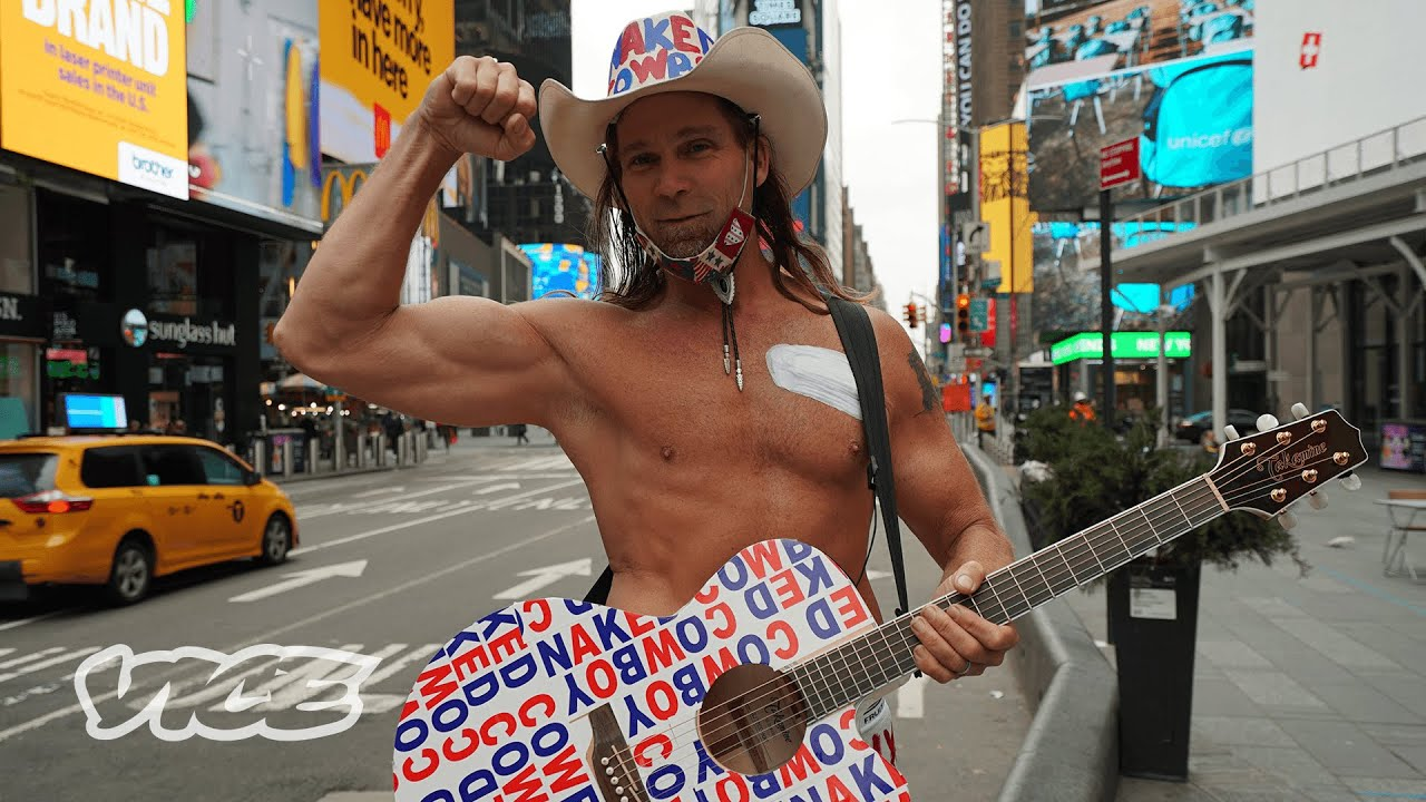 Undressing the Naked Cowboy