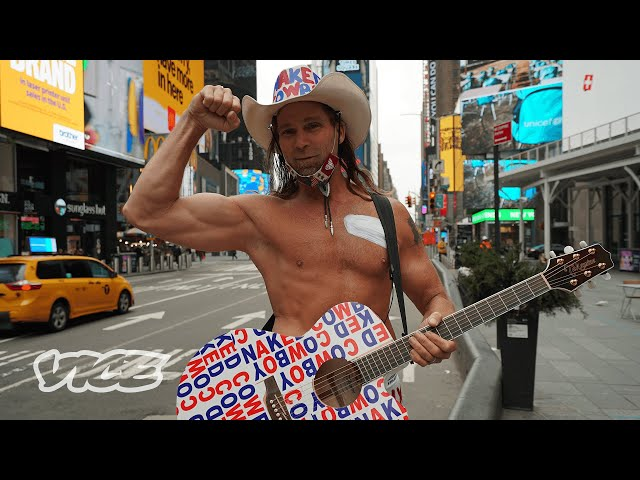 Undressing the Naked Cowboy | Local Legends