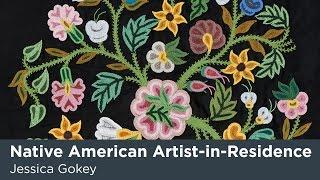 Native American Artist-in-Residence Jessica Gokey