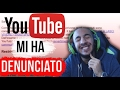 YOUTUBE MI HA RIMOSSO IL VIDEO! PARTONO LE DENUNCE!