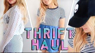 HUGE Try On Thrift Haul   Summer 2016
