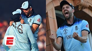 Liam Plunkett and Mark Wood relive England's winning moment vs. New Zealand | 2019 Cricket World Cup