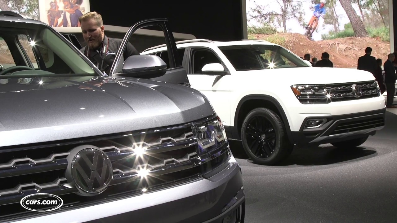 2018 Volkswagen Atlas Review: First Impressions - YouTube