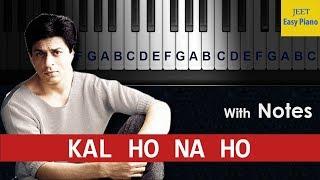 easy piano songs hindi kal ho na ho