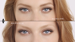 Fuller Eyebrows Tutorial For Fair Brows| Charlotte Tilbury