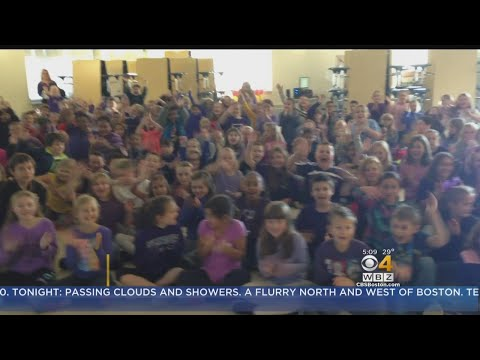 WBZ-TV Weather School Visits: Bournedale & Peebles Elementary School In Bourne And Buzzards Bay, MA