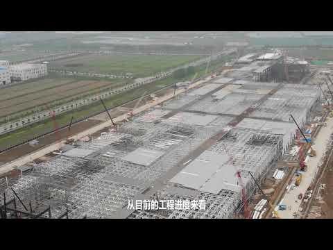 特斯拉计划9月份下线首辆国产Model 3 比计划提前,108天从菜地到工厂:腾讯汽车独家航拍特斯拉上海工厂