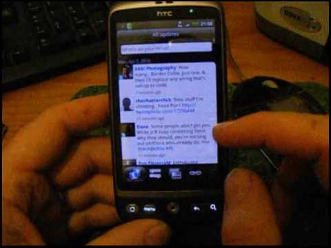 HTC Desire Google Android Smart Phone First Look