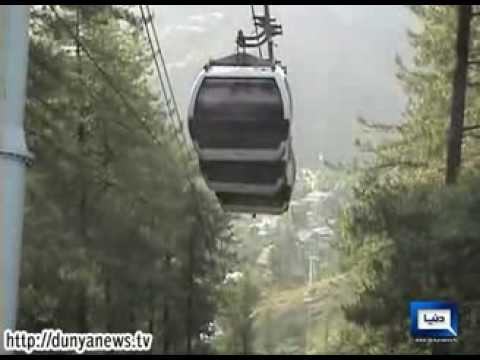Dunya News-9-km-Long Chairlift in Kaghan, Swat Valley KPK