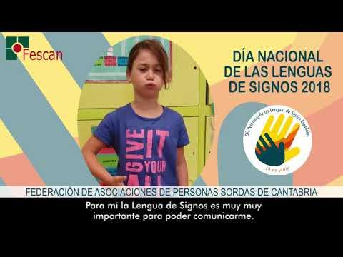 Día Nacional de la Lengua de Signos 2018