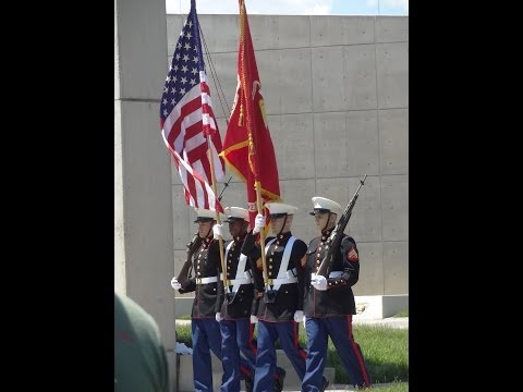 3rd Battalion 3rd Marines Memorial Dedication