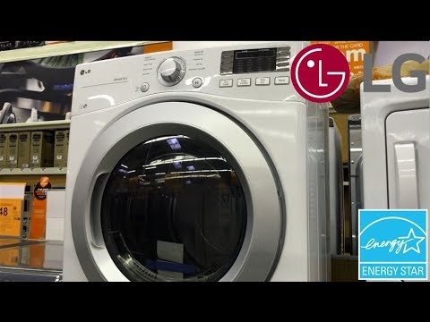 LG DLE3170W Ultra Large Capacity Dryer With NFC Tag On Technology