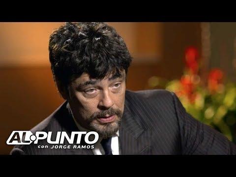 Benicio del Toro critica que los puertorriqueños sean tratados como