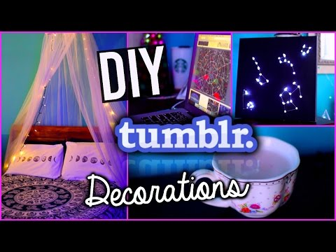 DIY Tumblr Room Decorations For The New Year With Hayleywi11iams!