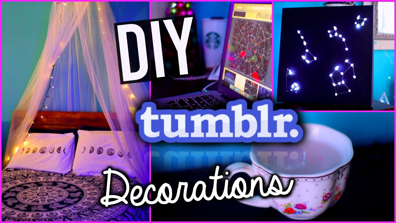 Diy tumblr room decorations for the new year with for Room decor ideas step by step