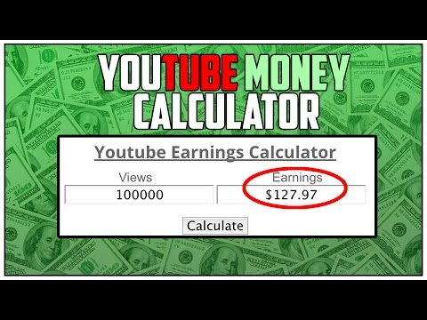 YouTube Earnings Calculator (How Much Does Your Channel Earn) | YouTube Money