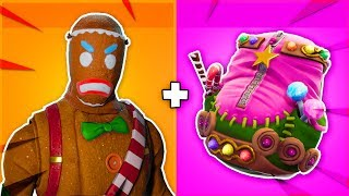 "10 AMAZING ""GINGER GUNNER"" + ""MERRY MARAUDER"" SKIN COMBOS in Fortnite!"