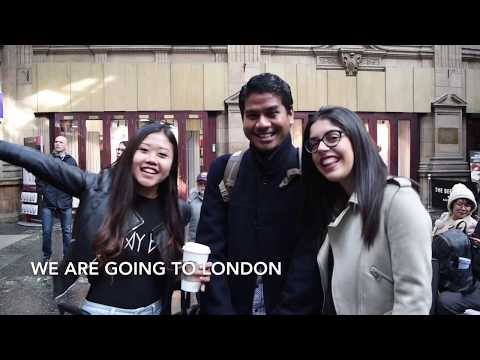 Banking and Risk student trek to London