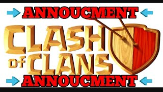 (ANNOUCMENT) To my coc subscribers