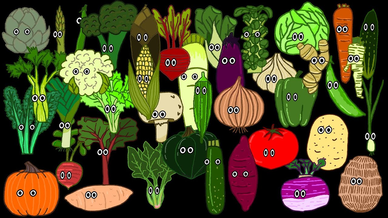 Vegetable Song The Kids Picture Show Fun Educational - 20 funny fruits and vegetables looking exactly like something else