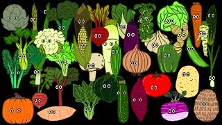 Vegetable Song   The Kids' Picture Show (fun & Educational Learning Video)