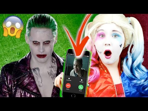 CALLING THE JOKER ON FACETIME!! OMG HE ANSWERED!!