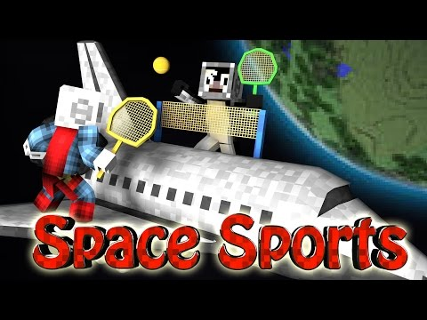 Minecraft | SPACE TENNIS CHALLENGE - Space vs Tennis! (Sports Mod)