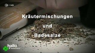 Legale Drogen - Kraeutermischungen u. Badesalze