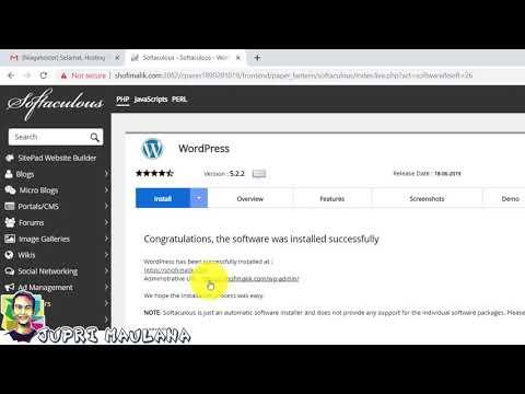 cara-install-wordpress-di-cpanel